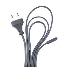 Topný kabel, silicon, jednošňůrový 25 W/4,50 m (RP 2,90 Kč)