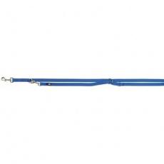 Vodítko PREMIUM prodlužovací, M-L: 2,0m/ 20 mm, královská modrá