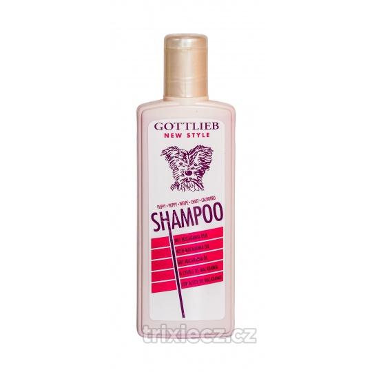 TRIXIE Gottlieb Puppy šampón 300ml - pre šteniatka s makadamovým olejom
