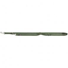 Vodítko PREMIUM prodlužovací, XS-S: 2,0m/ 15 mm, les