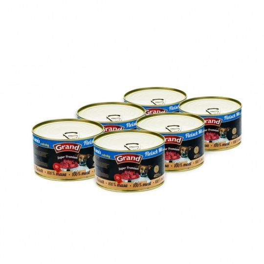 Grand SuperPremium Meat Mix 6 x 850 g