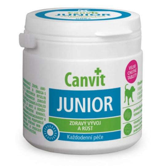 Canvit Junior  pre psy ochutený 100 g