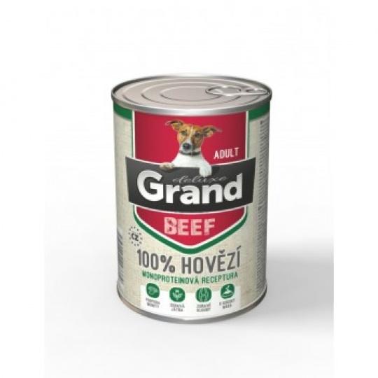 Grand Deluxe 100% Hovädzie Adult 400 g
