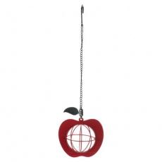 Krmítko na lojovou kouli - jablko, 12x35cm