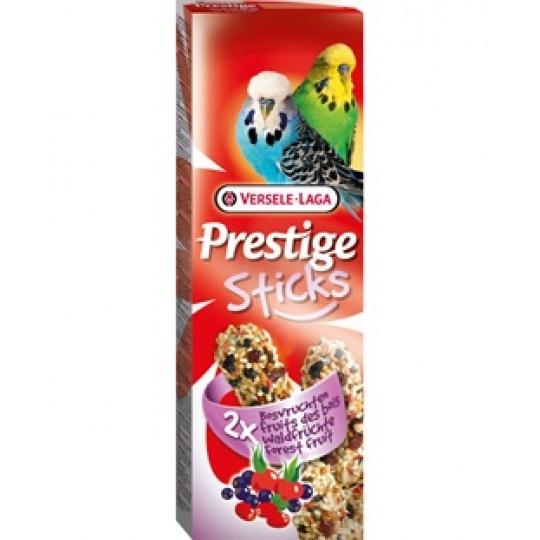 Versele Laga Prestige Sticks Budgies Forest Fruit Tyčinky s lesným ovocím pre andulky 60 g ( 2ks)