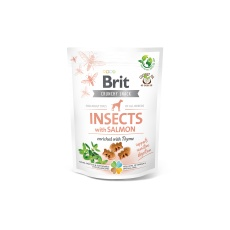Brit Care Dog Crunchy Cracker. Insects with Salmon 200g