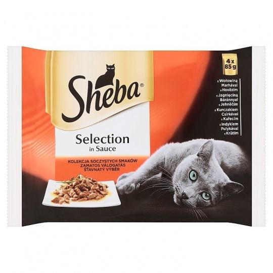 Sheba Delicacy in Jely Šťavnatý výber 4 x 85 g