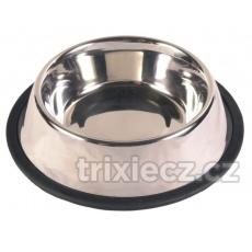 TRIXIE Nerezová miska s gumou v rôznych veľkostiach