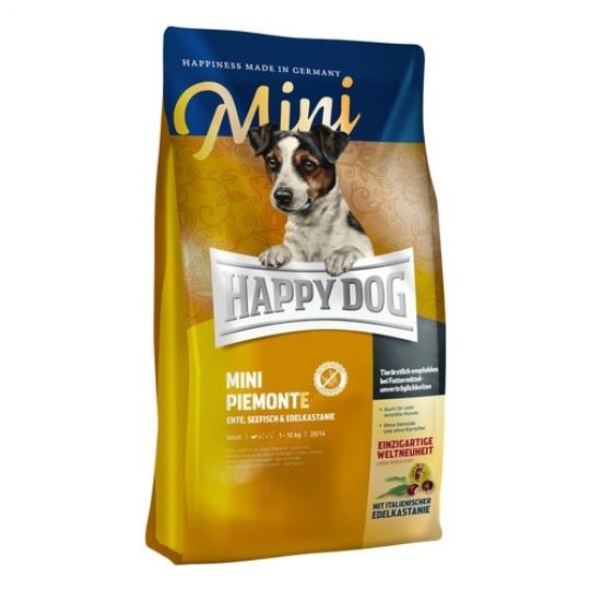 Happy Dog Supreme Mini Piemonte Kačica & Morské ryby 300 g