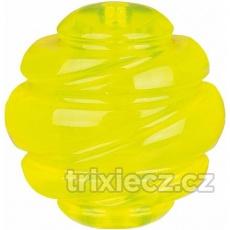 SPORTING tvrdý míč TPS 6 cm žlutý -