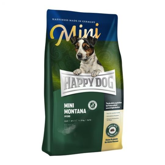 Happy Dog Supreme Mini MONTANA Konské mäso & Zemiaky 300 g