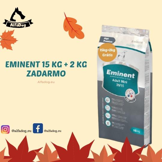Eminent Dog Adult Mini 26/15 15 kg + 2 kg ZADARMO