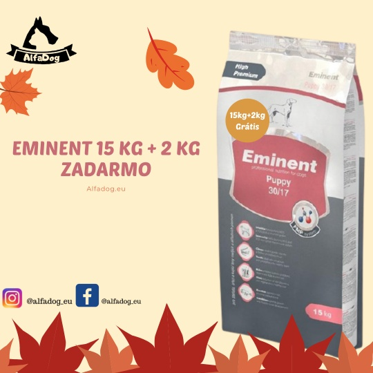 Eminent Puppy MINI 30/17 15 kg + 2 kg ZADARMO