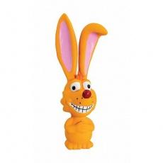 Liška s dlouhýma ušima 17cm, se zvukem, latex, HipHop