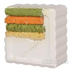 TRIXIE Vitamínový blok s kukuřičnými tyčinkami 80g