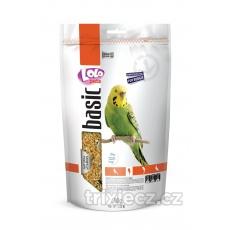 LOLO BASIC kompletní krmivo pro andulky 600 g Doypack