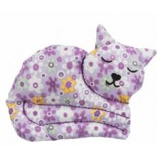 CAT, bavlněná kočka, hračka pro kočky s valerianem, 13 cm