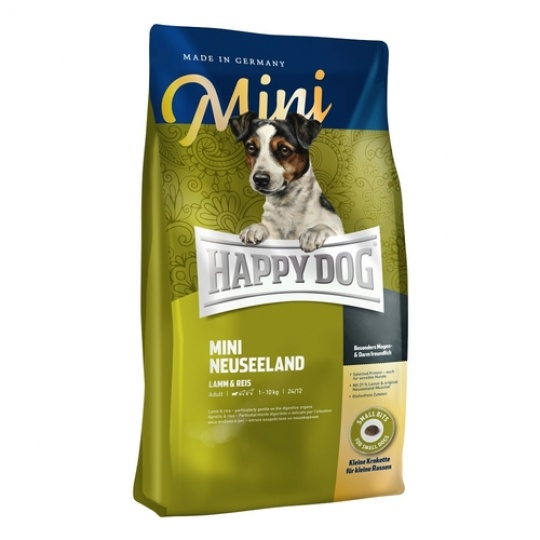 Happy Dog Supreme Mini NEUSEELAND Jahňa & Ryža 300 g