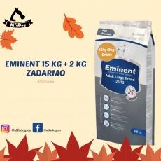 Eminent Large Breed 25/13 15 kg + 2 kg ZADARMO