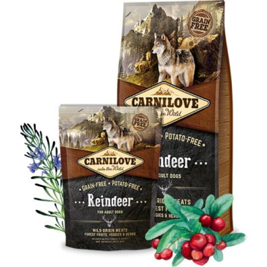Carnilove Adult Dog Reindeer / Sob 12kg