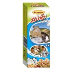 Avicentra Tyčinky deluxe s orechmi a kokosom pre škrečky, potkany a myši ( 2 ks) 120 g