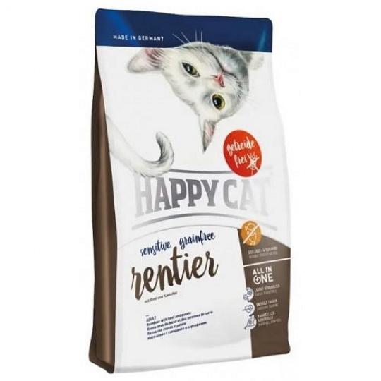 Happy Cat Sensitive Grainfree Rentier / Sob 300 g