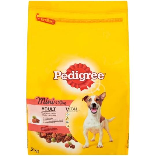 Pedigree Adult MINI Hovädzie & Zelenina 12 kg