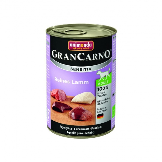 Animonda Gran Carno Sensitive Jahňacie  400 g