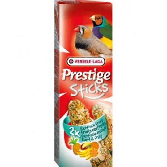 Versele Laga Prestige Sticks Finches Exotic Fruit 2 ks Tyčinky pre drobné exoty Exotické ovocie 60 g