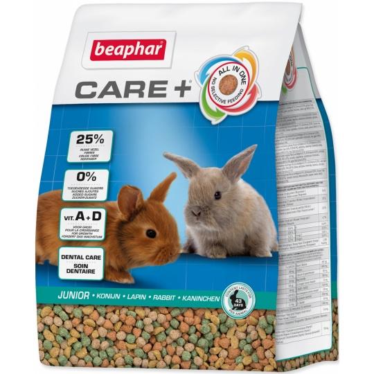 Beaphar Krmivo králík Junior CARE + 1,5kg