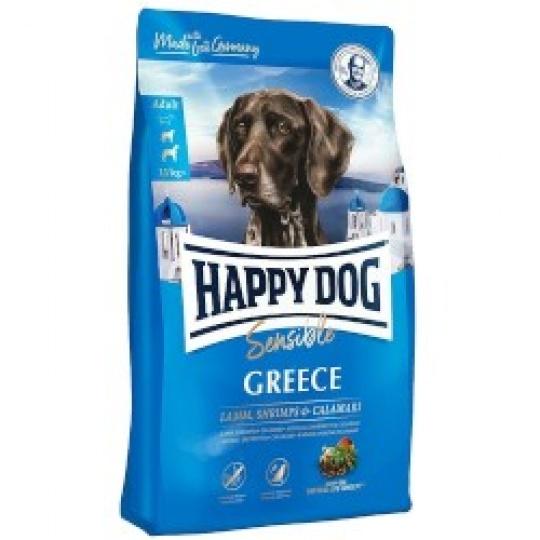 Happy Dog Supreme Sensible Greece Jahňa & Krevety 4 kg