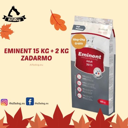 Eminent Dog Adult  15 kg + 2 kg ZADARMO