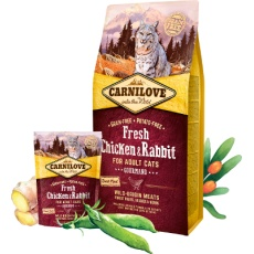 Carnilove Cat Fresh Chicken & Rabbit Adult 400 g