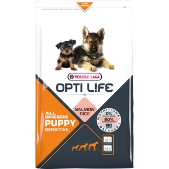 Versele Laga Opti Life Dog Puppy Sensitive All breeds 12,5 kg