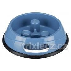 TRIXIE Plastová miska proti hltaniu jídla