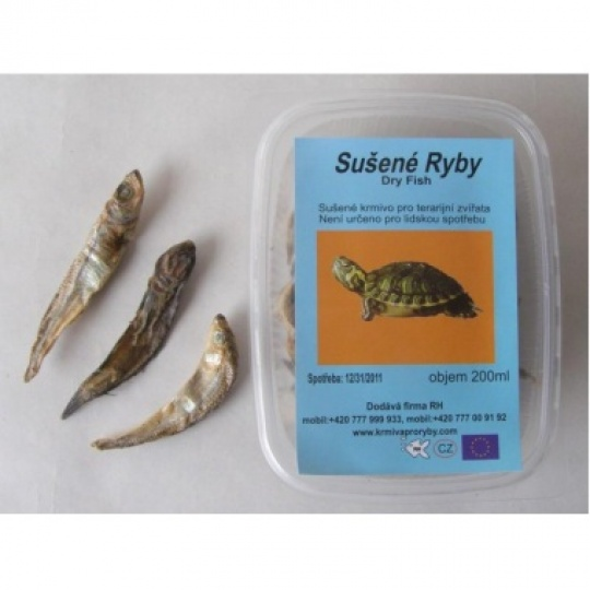 RYBIČKY, sušené v krabičke 200 ml