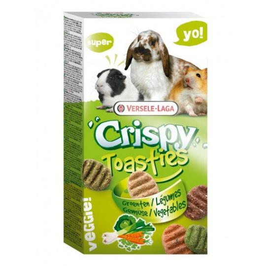 Versele Laga Crispy Toasties Zelenina 150 g