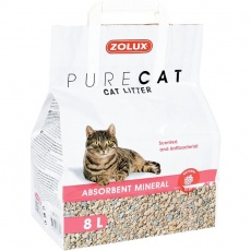 Podstielka PURECAT scented absorbent 8l Zolux