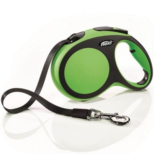 Flexi New Comfort M páska 5 m (do 25 kg) zelená