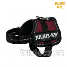 Julius-K9 silový postroj 3/XL 82-118 cm,, hnedá