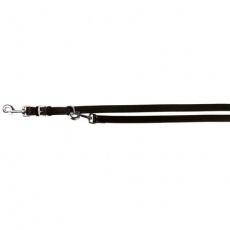 Vodítko kožené ACTIVE S-M 2,00m/13 mm,  - černé
