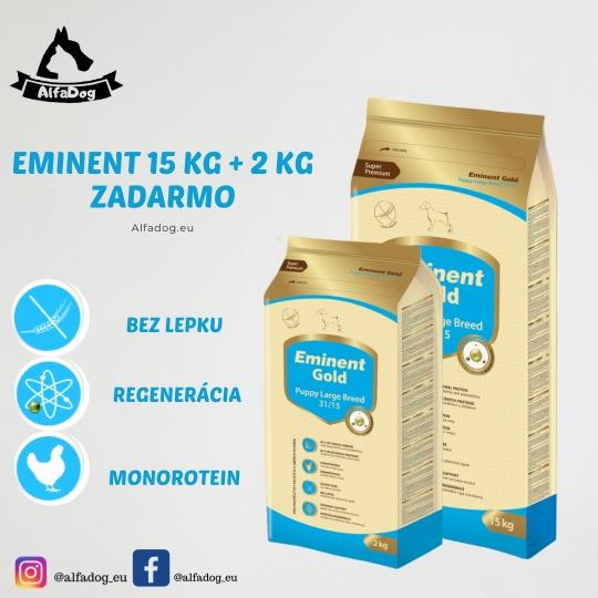 Eminent Gold Puppy Large Breed 31/15 15 kg + 2 kg ZADARMO