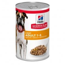 Hill's SCIENCE PLAN Light Adult Dog Food  370g
