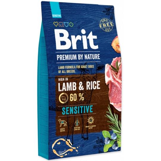 Brit Premium Dog by Nature Sensitive Lamb 15 kg