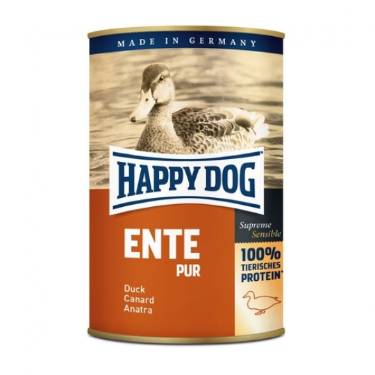 Happy Dog Konzerva Ente Pur Kačica  400 g