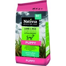 NATIVIA Puppy Lamb & Rice 3 kg