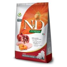 N&D Dog Pumpkin Puppy Medium & Maxi Chicken & Pomegranate 12kg