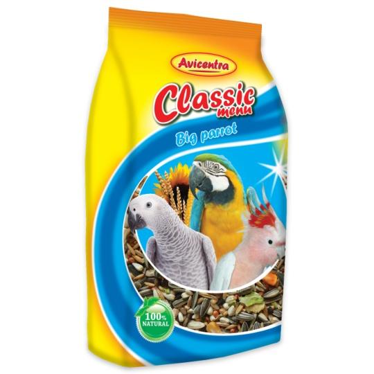 Avicentra Classic menu Veľky papagáj 15 kg