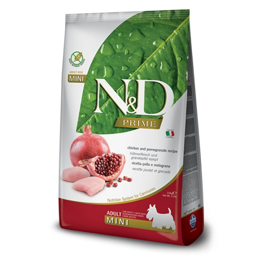 N&D Prime DOG Adult Mini Chicken & Pomegranate 7 kg