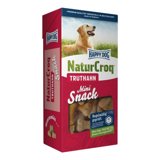 Happy Dog NaturCroq Snack Mini Truthahn 350 g Morčacie